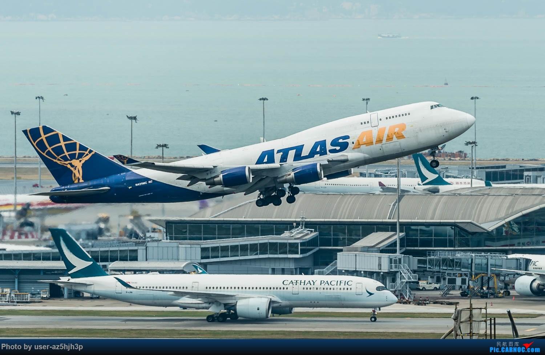 Re:[原创]香港机场拍的747 BOEING 747-400 N429MC 香港赤鱲角国际机场