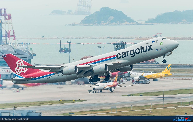 Re:[原创]香港机场拍的747 BOEING 747-8F LX-VCN 香港赤鱲角国际机场