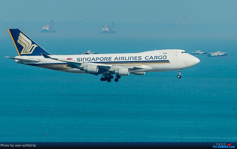 Re:[原创]香港机场拍的747 BOEING 747-400 9V—SFN 香港赤鱲角国际机场