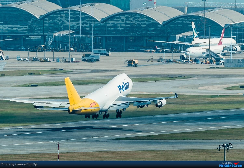 Re:[原创]香港机场拍的747 BOEING 747-400 N416CM 香港赤鱲角国际机场