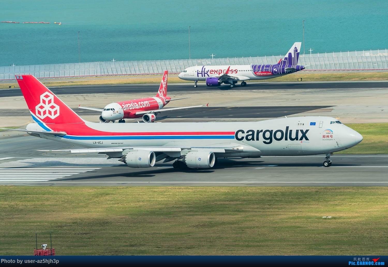 Re:[原创]香港机场拍的747 BOEING 747-400 LX-VCJ 香港赤鱲角国际机场