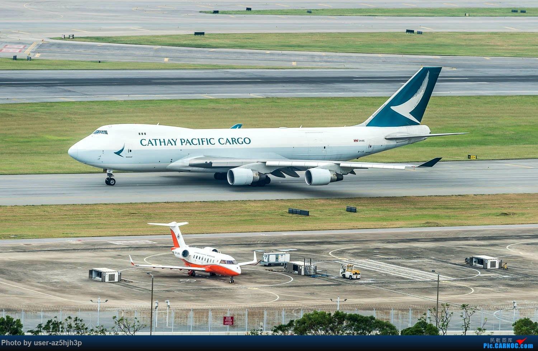 Re:[原创]香港机场拍的747 BOEING 747-400ER B-LIE 香港赤鱲角国际机场