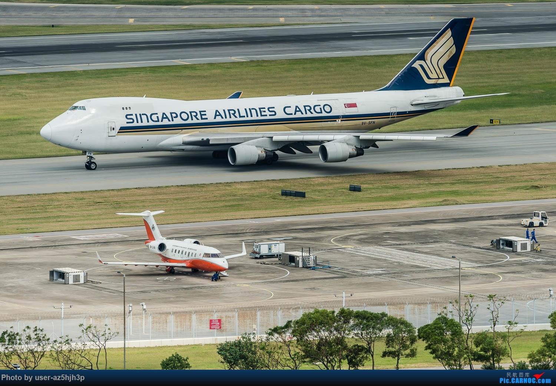 Re:[原创]香港机场拍的747 BOEING 747-400 9V-SFN 香港赤鱲角国际机场