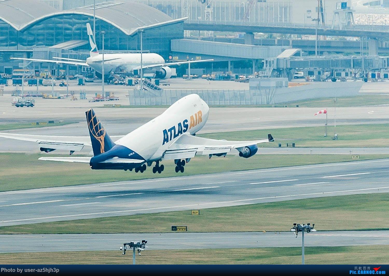 Re:[原创]香港机场拍的747 BOEING 747-400 N477MC 香港赤鱲角国际机场