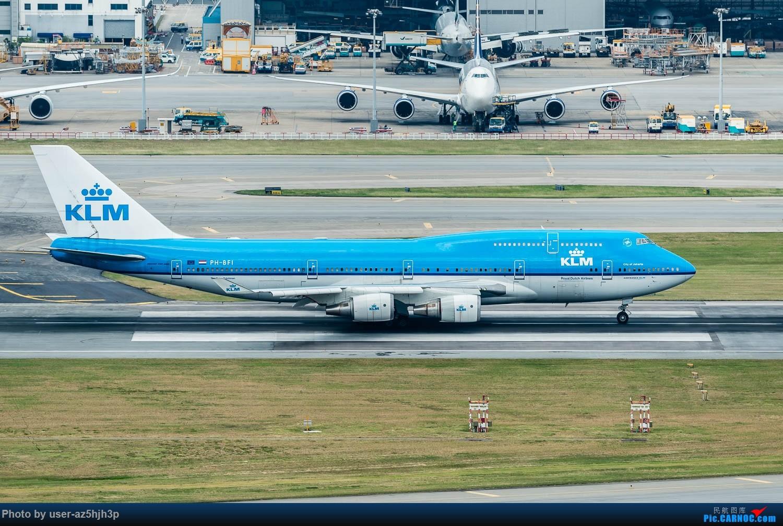 Re:[原创]香港机场拍的747 BOEING 747-400 PH-BFI 香港赤鱲角国际机场