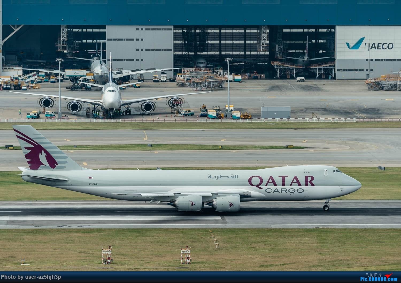 Re:[原创]香港机场拍的747 BOEING 747-8F A7-BGA 香港赤鱲角国际机场