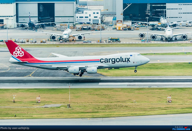Re:[原创]香港机场拍的747 BOEING 747-8F LX-VCG 香港赤鱲角国际机场