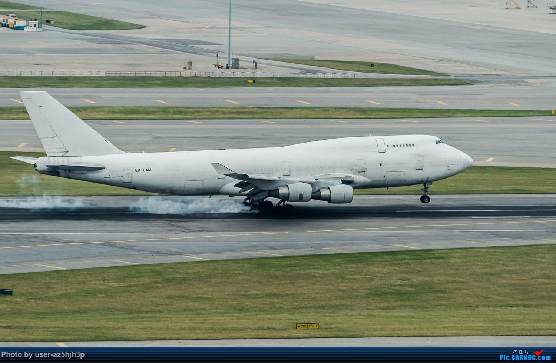 Re:[原创]香港机场拍的747 BOEING 747-400ER ER-BAM 香港赤鱲角国际机场
