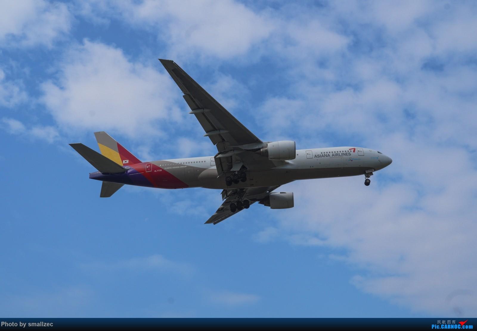 [原创]难得休假,CAN一顿乱拍,顺带试试新镜头 BOEING 777-200ER HL7739 广州白云国际机场