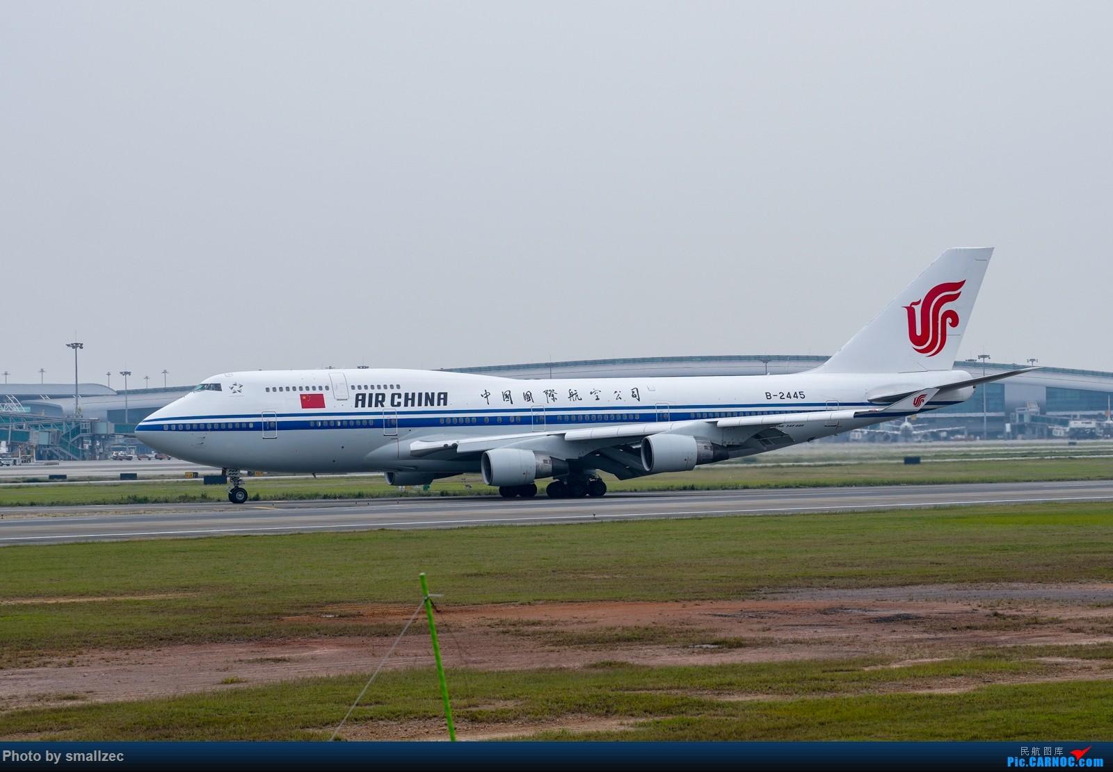 Re:[原创]难得休假,CAN一顿乱拍,顺带试试新镜头 BOEING 747-400 B-2445 广州白云国际机场