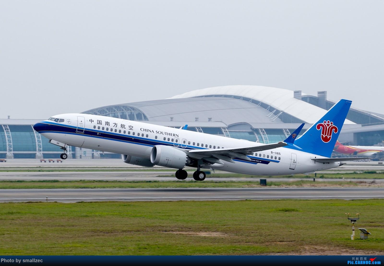 Re:[原创]难得休假,CAN一顿乱拍,顺带试试新镜头 BOEING 737MAX-8 B-1165 广州白云国际机场