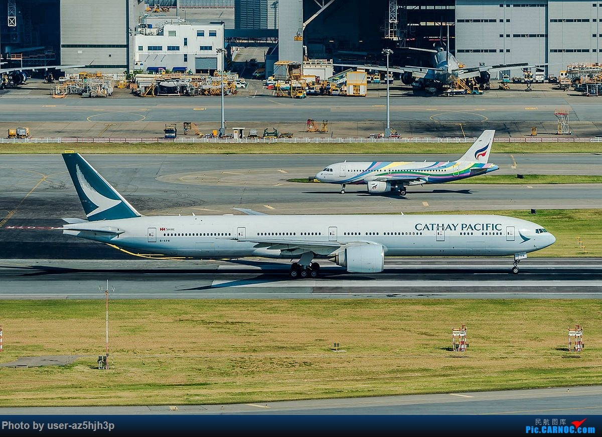 Re:[原创]香港沙螺湾拍机 BOEING 777-300ER B-KPW 中国香港国际机场