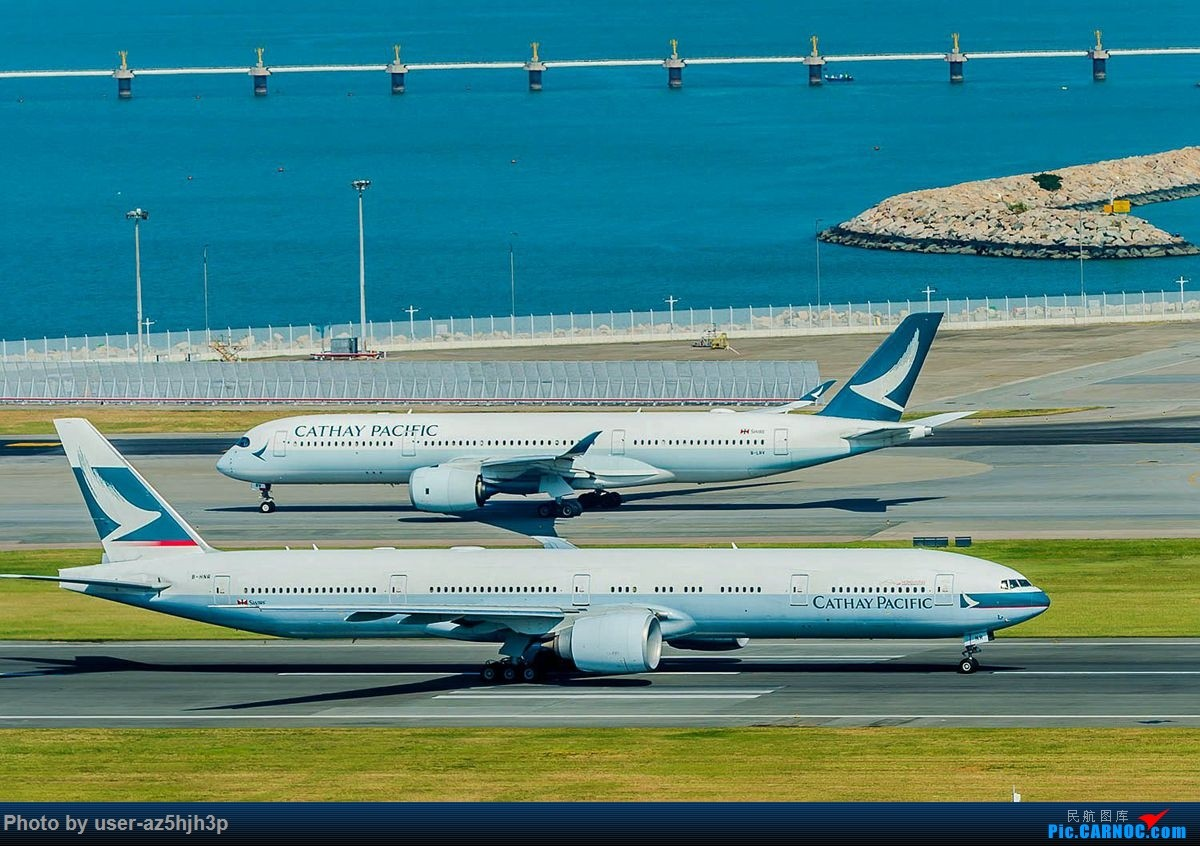 Re:[原创]香港沙螺湾拍机 BOEING 777-300ER B-HNR 中国香港国际机场