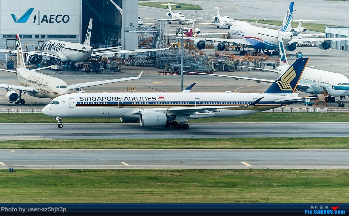 Re:[原创]香港沙螺湾拍机 AIRBUS A350-900 9V-SWJ 中国香港国际机场