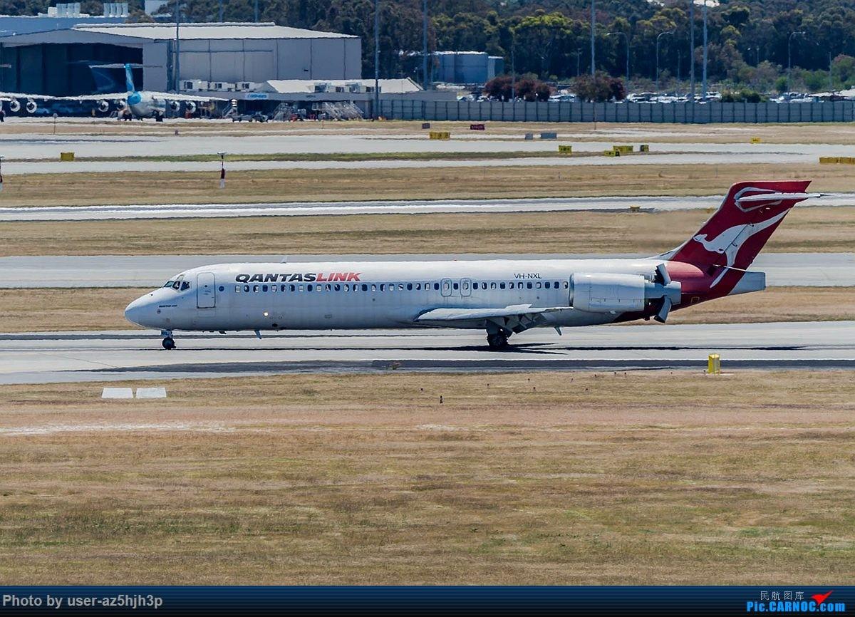 [原创]第一次拍第一次见到的飞机 BOEING717-200 VH-NXL 澳大利亚珀斯国际机场