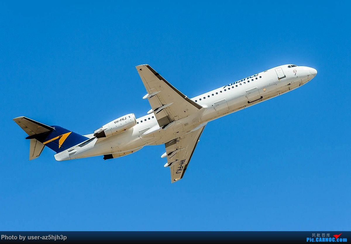 Re:[原创]第一次拍第一次见到的飞机 FOKKER100 VH-FKJ 澳大利亚珀斯国际机场