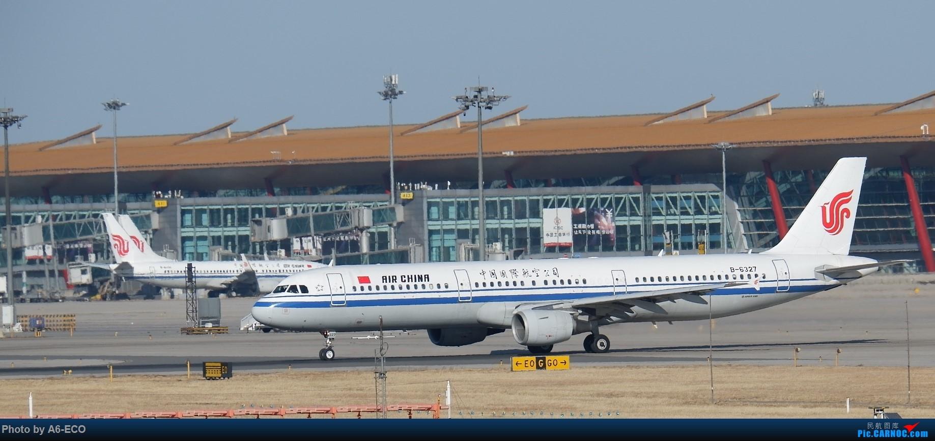 Re:[原创]【Siriの拍机】换镜头,文末有彩蛋! AIRBUS A321-200 B-6327 中国北京首都国际机场