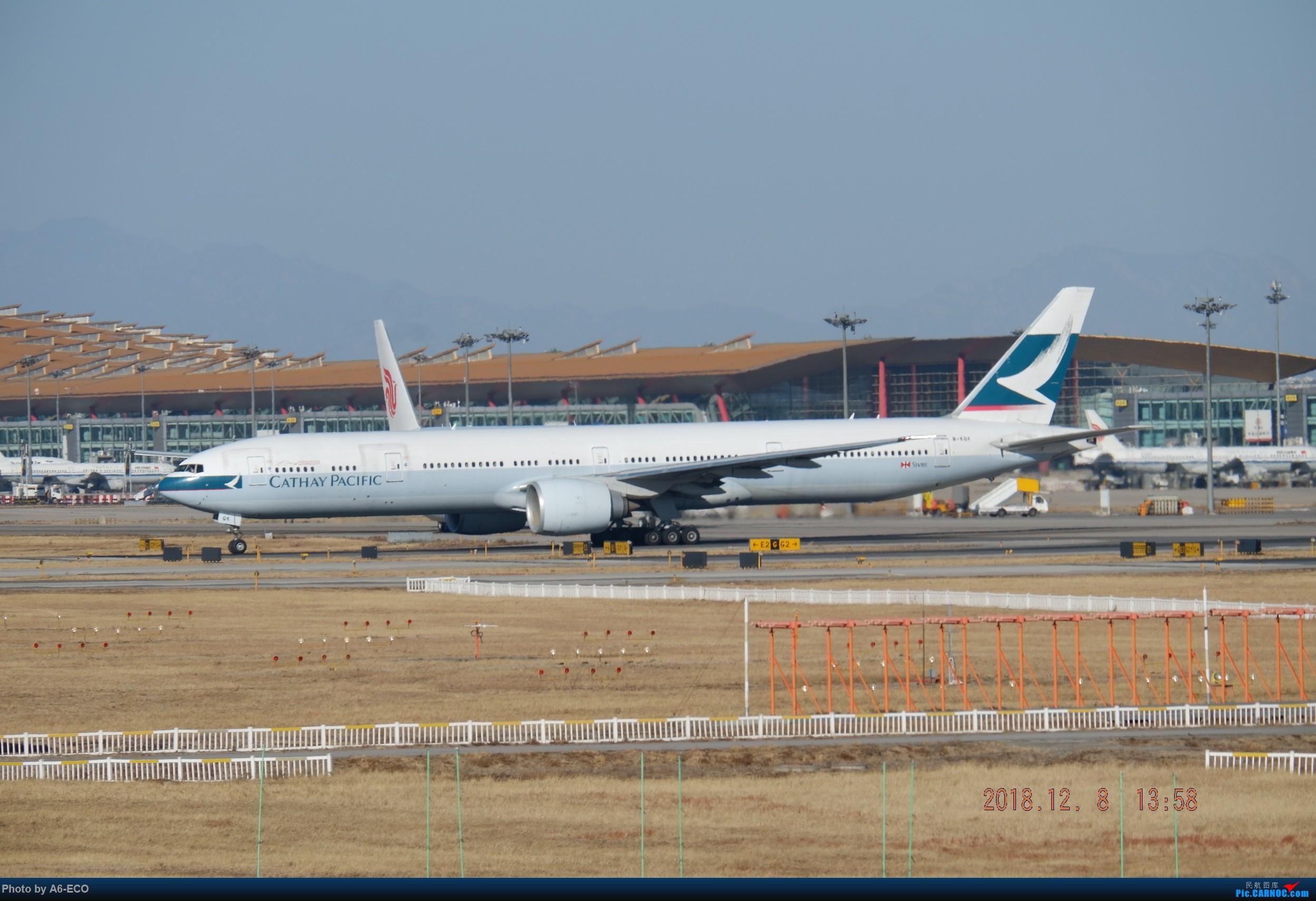 Re:[原创]【Siriの拍机】换镜头,文末有彩蛋! BOEING 777-300ER B-KQK 中国北京首都国际机场
