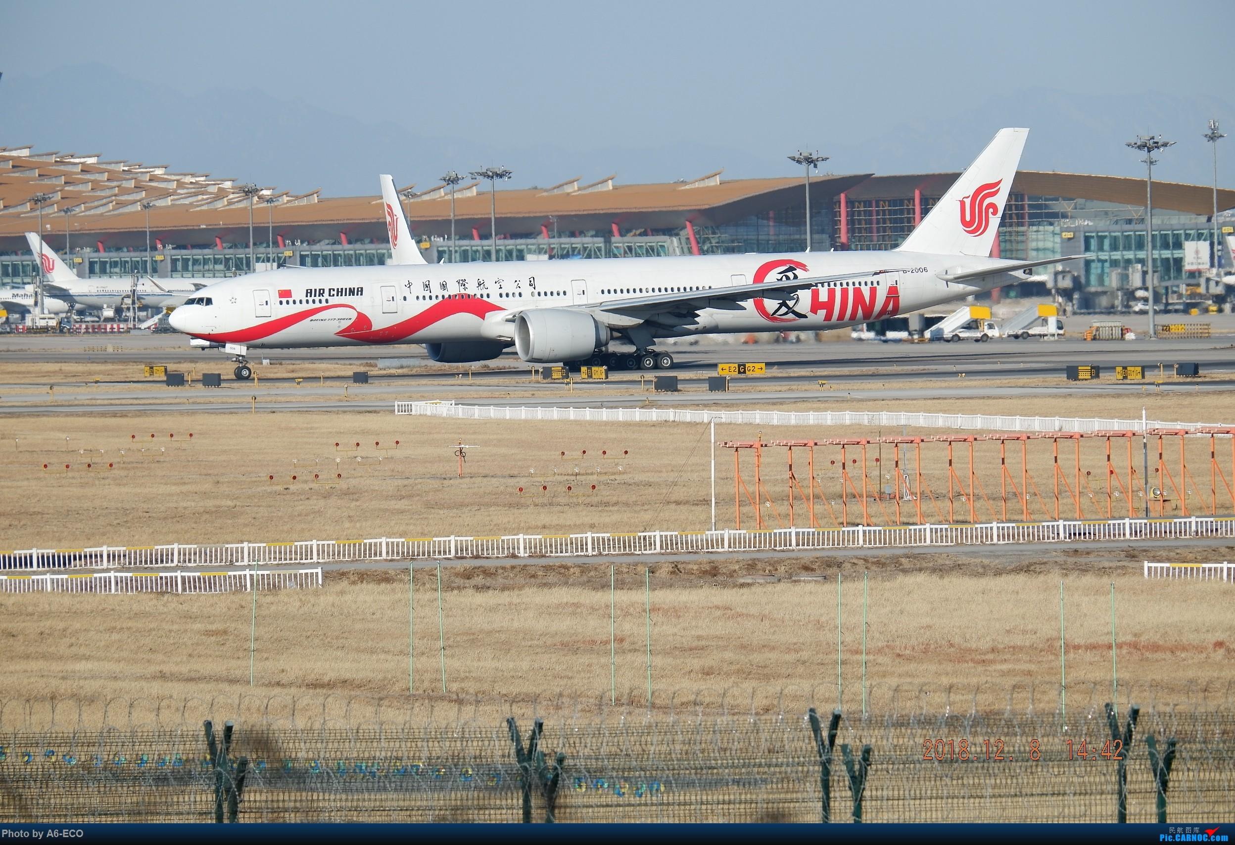 Re:[原创]【Siriの拍机】换镜头,文末有彩蛋! BOEING 777-300ER B-2006 中国北京首都国际机场