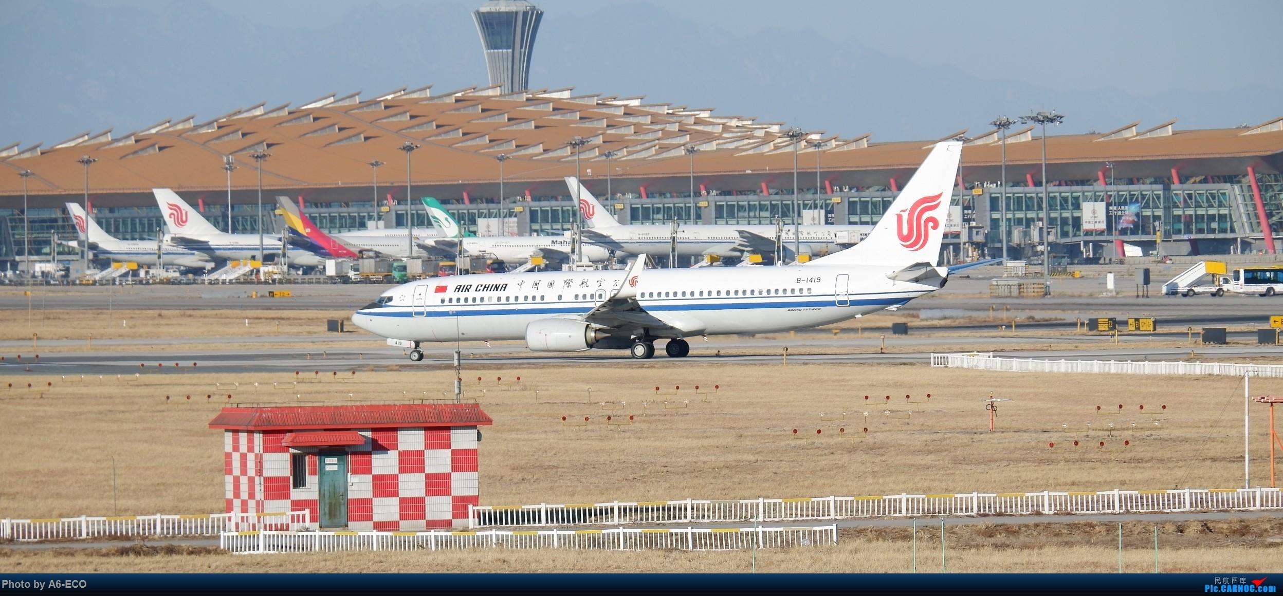 Re:[原创]【Siriの拍机】换镜头,文末有彩蛋! BOEING 737-800 B-1419 中国北京首都国际机场