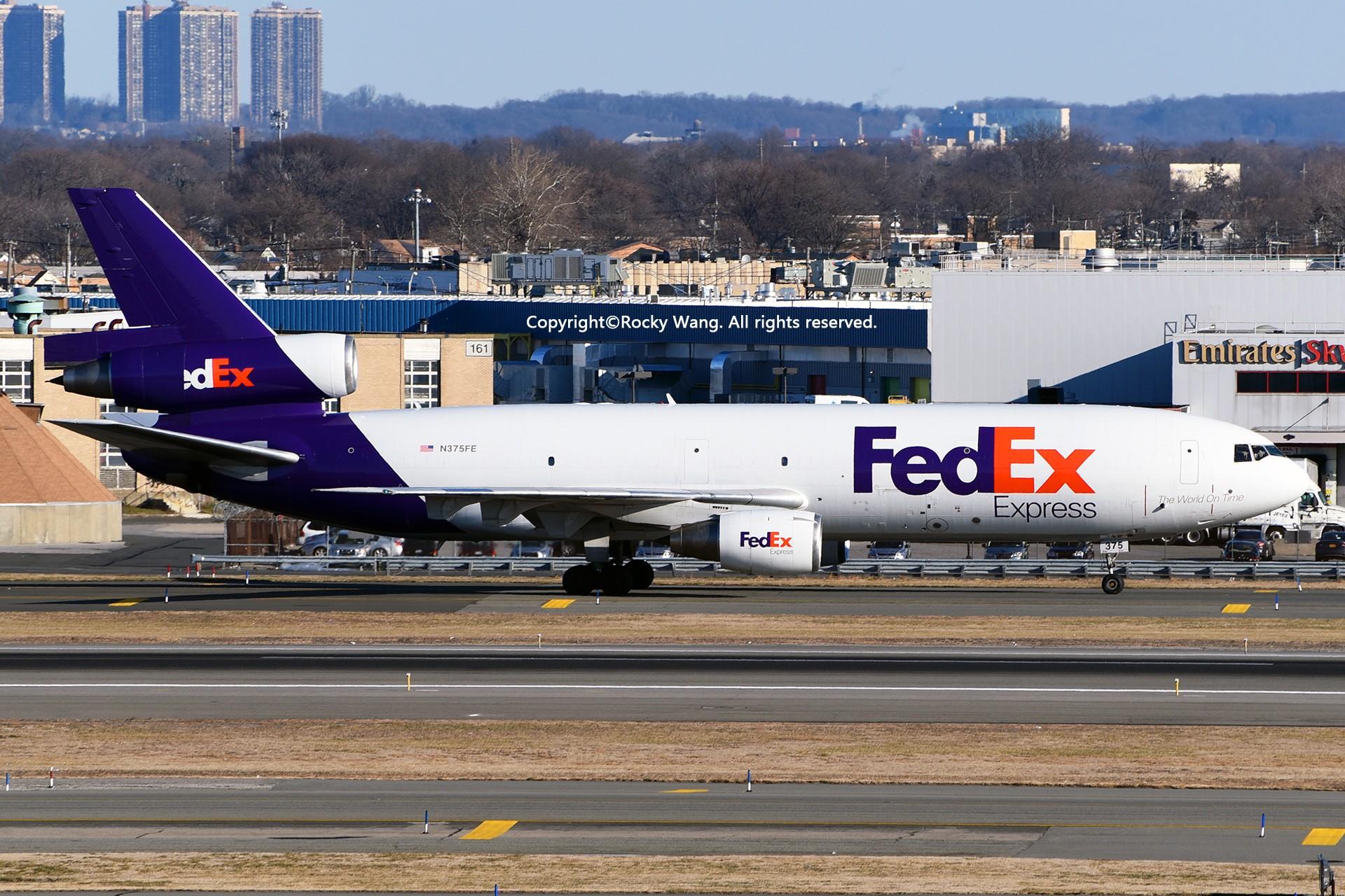 Re:[原创]KJFK 30图 MCDONNELL DOUGLAS MD-10-10(F) N375FE New York John F. Kennedy Int'l Airport