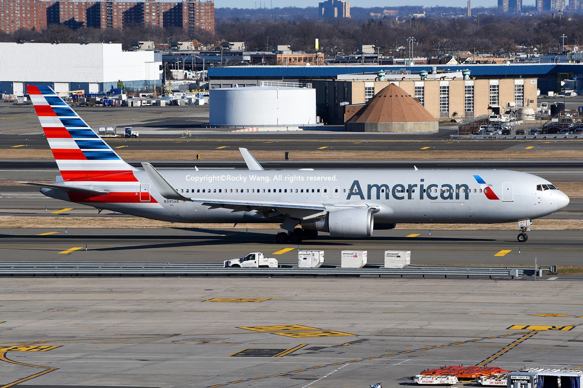 Re:[原创]KJFK 30图 BOEING 767-323(ER) N395AN New York John F. Kennedy Int'l Airport