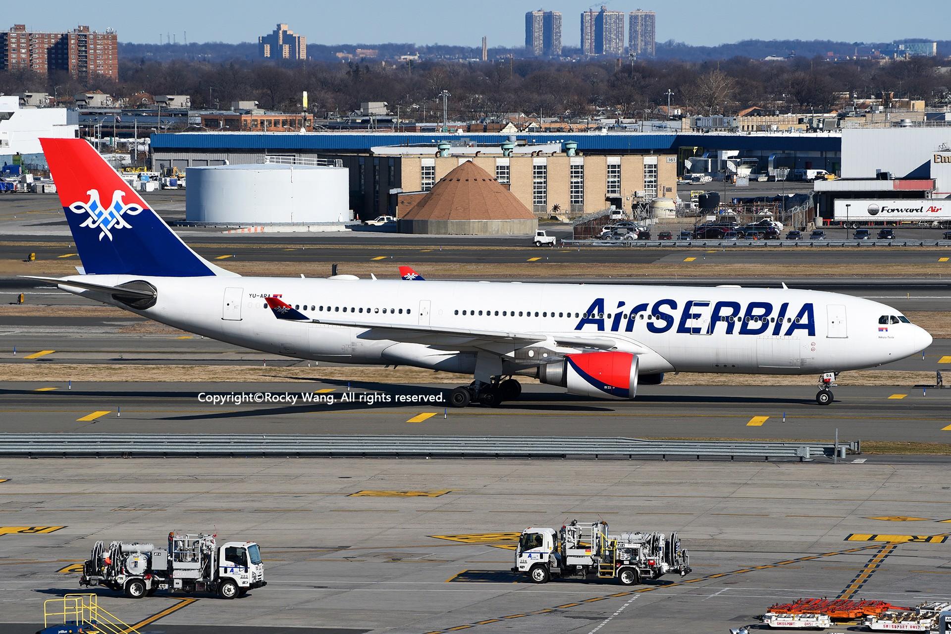 Re:[原创]KJFK 30图 AIRBUS A330-202 YU-ARA New York John F. Kennedy Int'l Airport