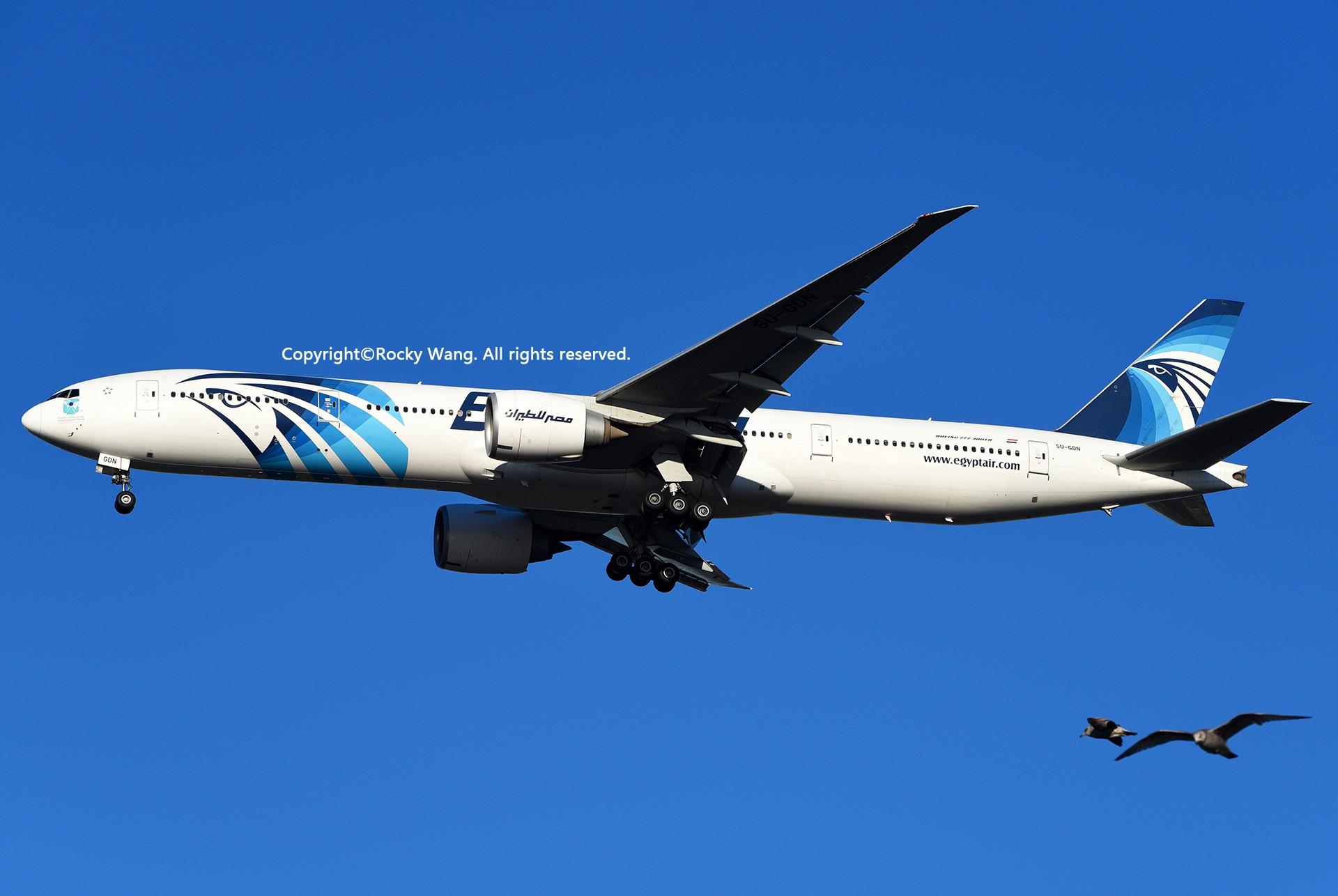 Re:[原创]KJFK 30图 BOEING 777-36NER SU-GDN New York John F. Kennedy Int'l Airport