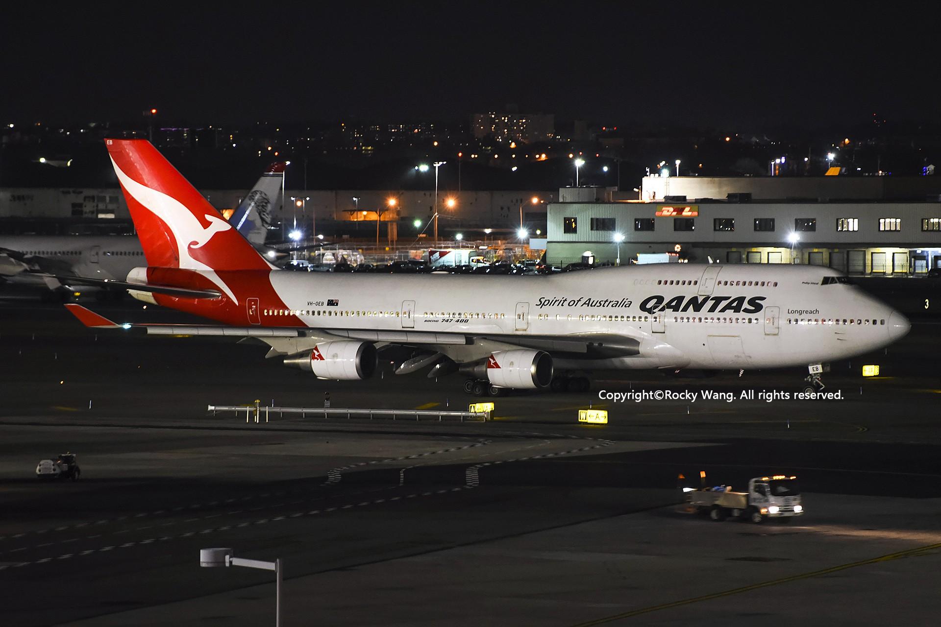 Re:[原创]KJFK 30图 BOEING 747-48E VH-OEB New York John F. Kennedy Int'l Airport