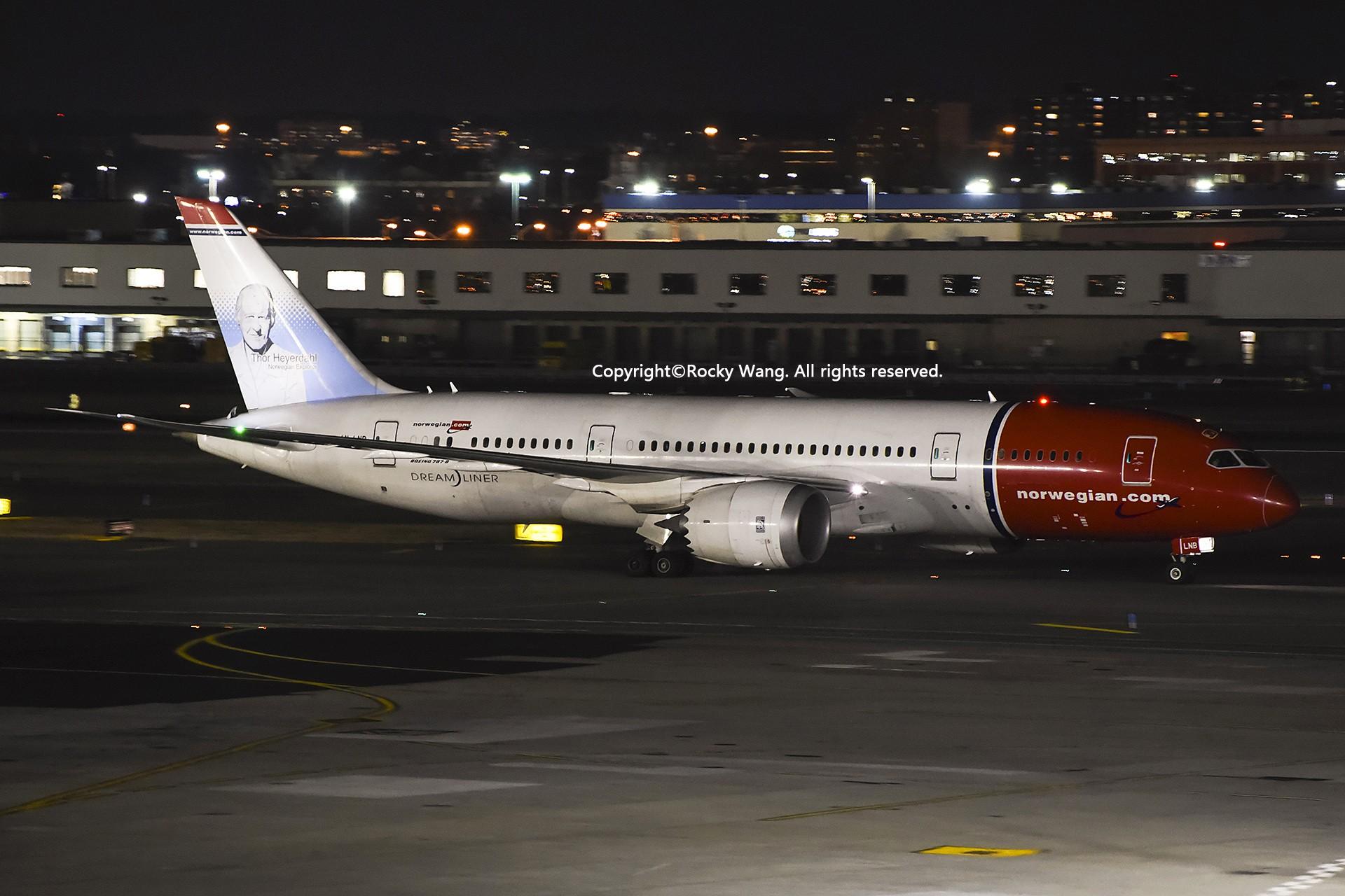 Re:[原创]KJFK 30图 BOEING 787-8 DREAMLINER LN-LNB New York John F. Kennedy Int'l Airport