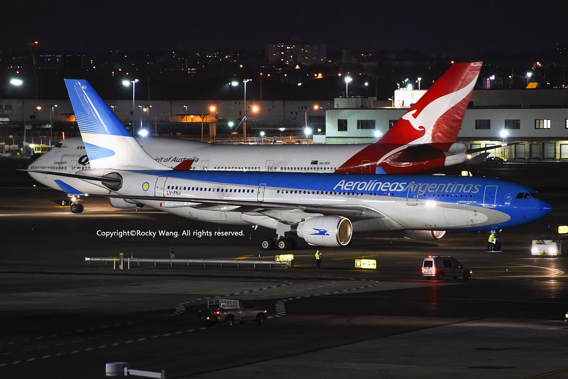 Re:[原创]KJFK 30图 AIRBUS A330-223 LV-FNJ New York John F. Kennedy Int'l Airport