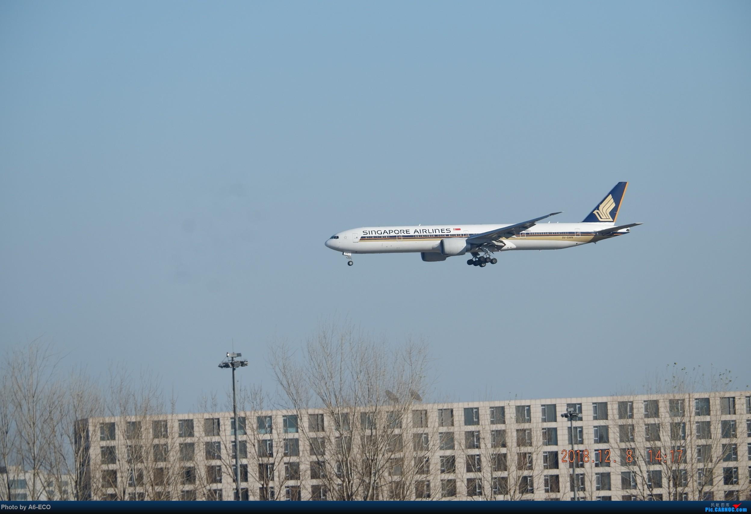 Re:[原创]【Siriの拍机】换镜头,文末有彩蛋! BOEING 777-200 9V-SWN 中国北京首都国际机场