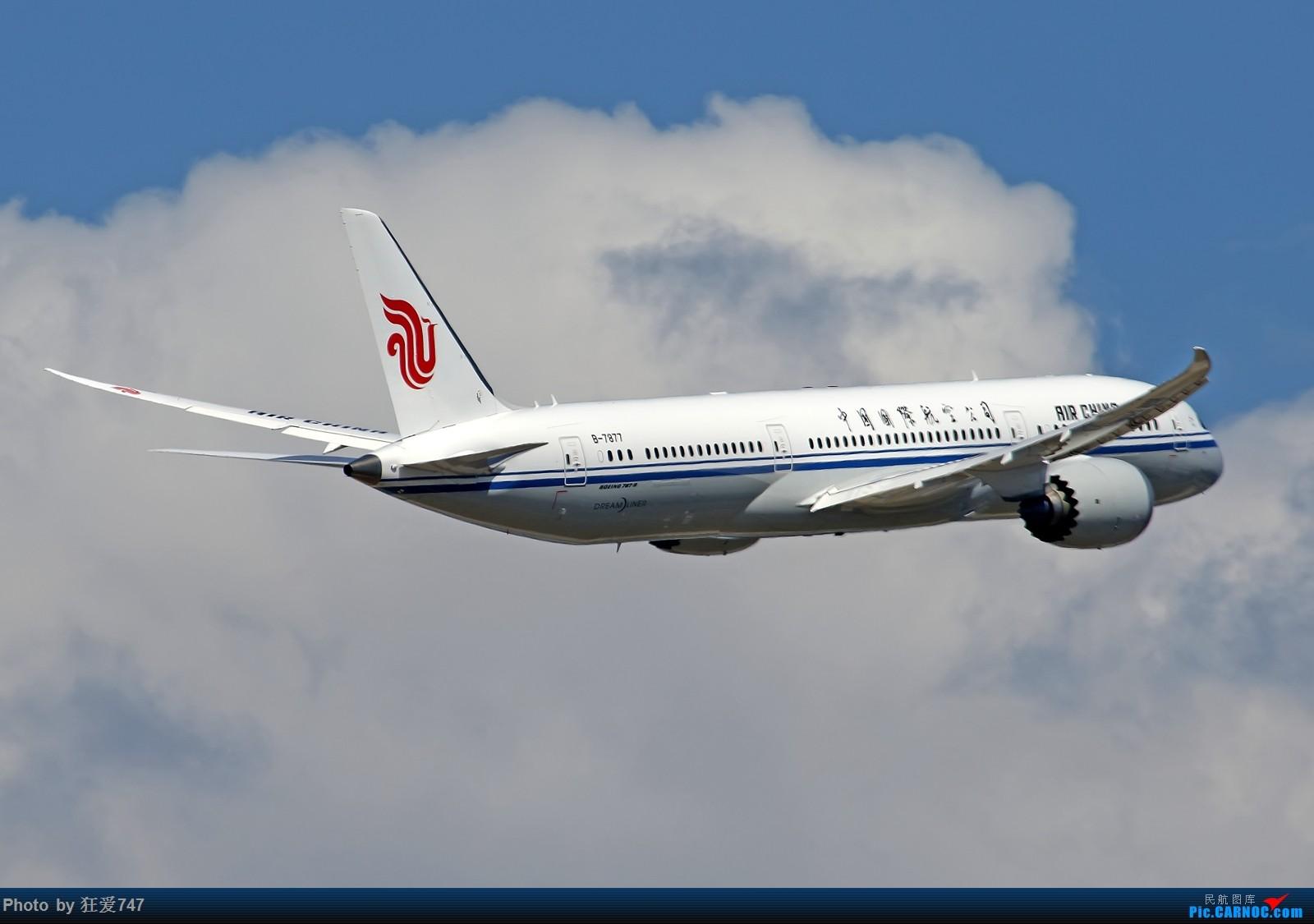 [原创]波音787首飞九周年发图祝贺一下    中国北京首都国际机场