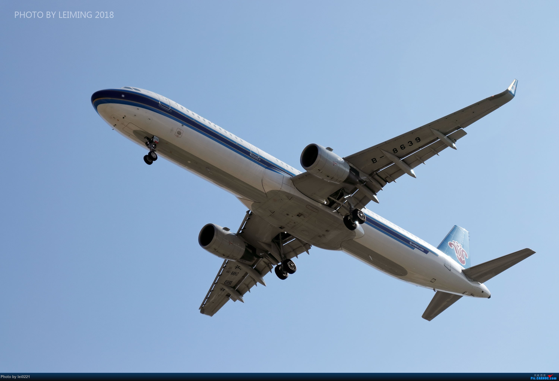 Re:[原创]我就是喜欢不上班去拍飞机。 AIRBUS A321-200 B-8639 中国广州白云国际机场