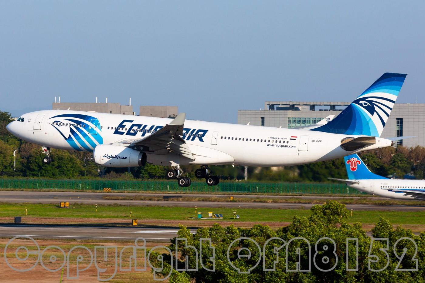 Re:[原创]现在发图好像有钱拿了? AIRBUS A330-200 SU-GCF 中国广州白云国际机场