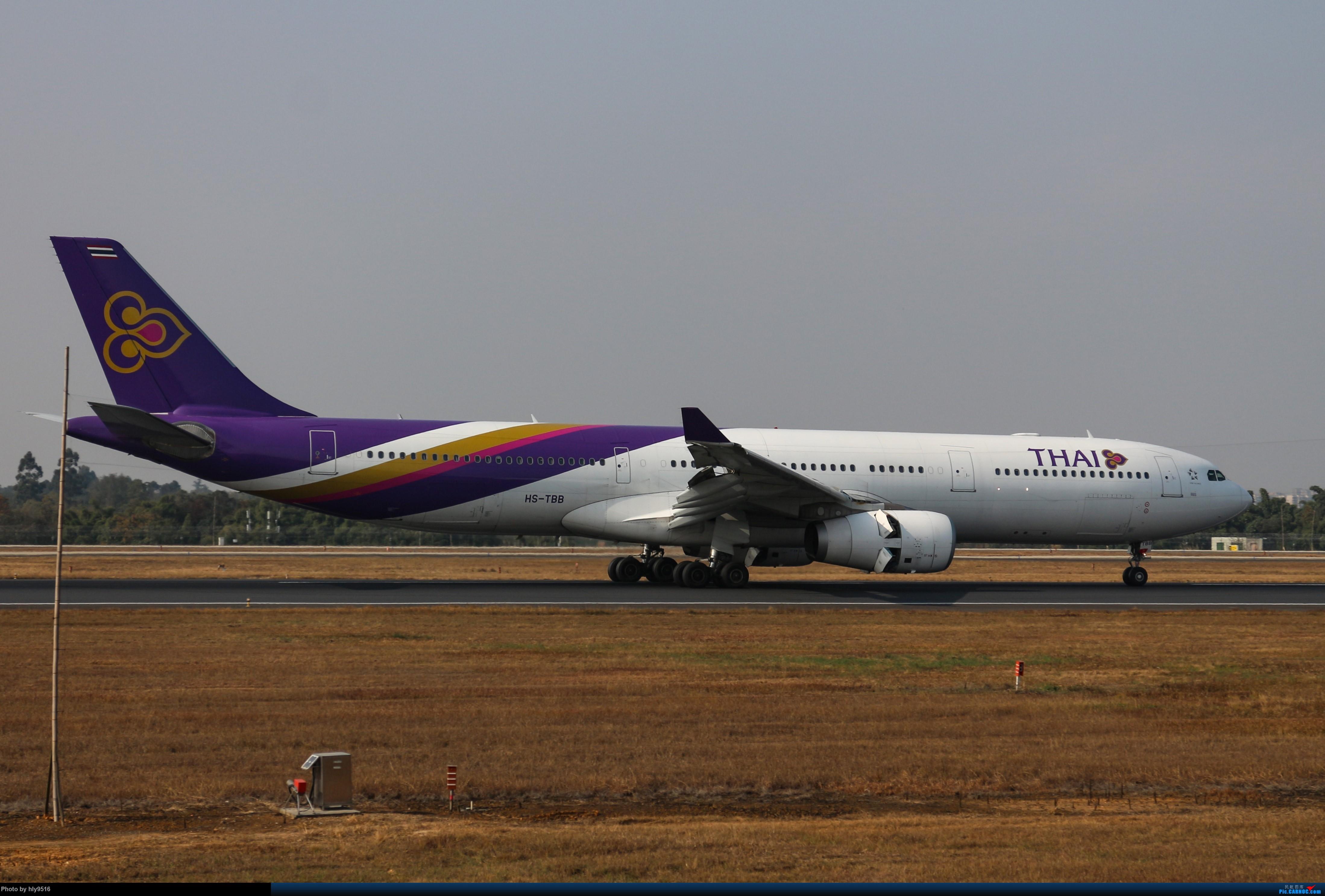 Re:[原创]【CTU】冬至拍机,近期的CTU日常 AIRBUS A330-300 HS-TBB 中国成都双流国际机场