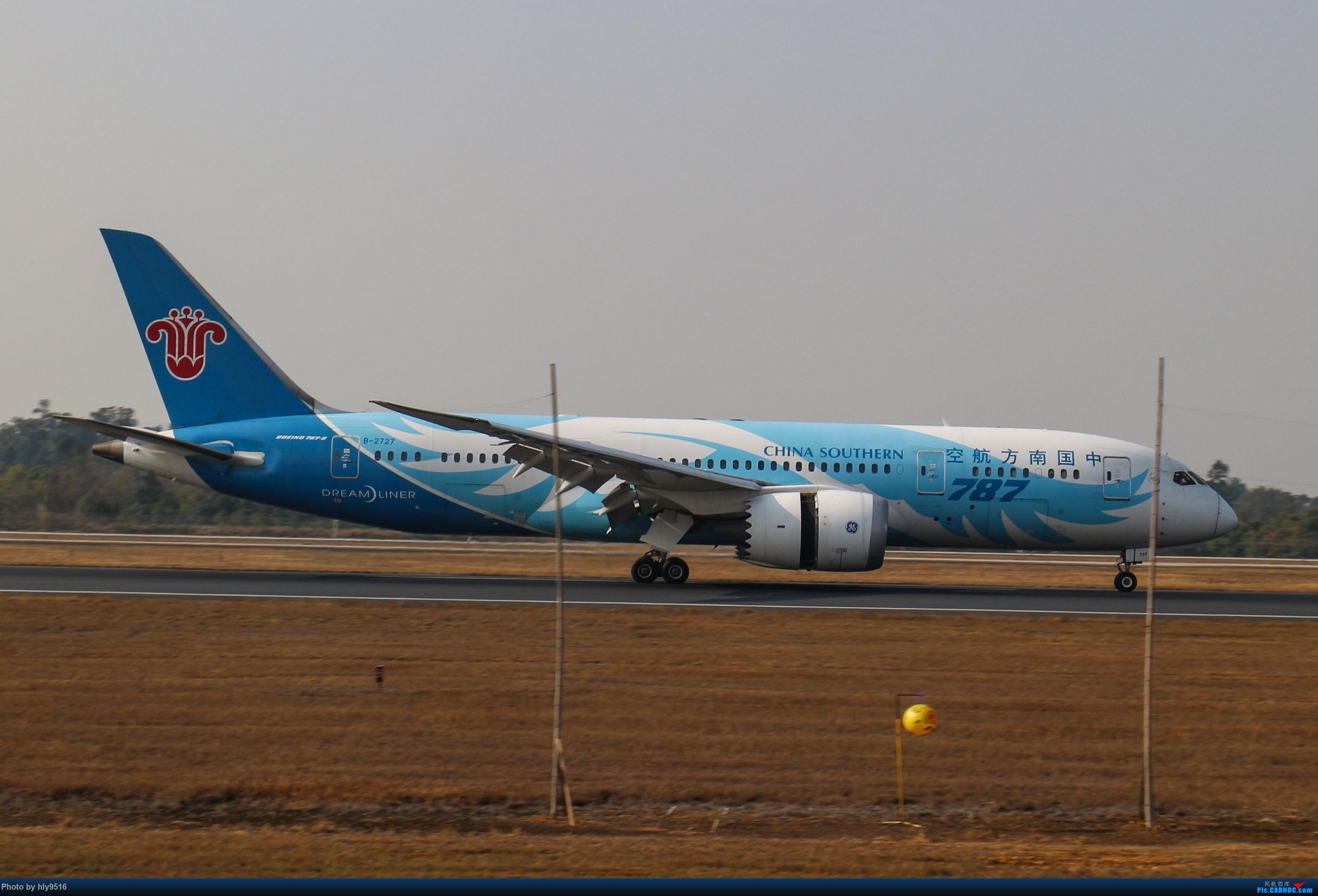 Re:[原创]【CTU】冬至拍机,近期的CTU日常 BOEING 787-8 B-2727 中国成都双流国际机场