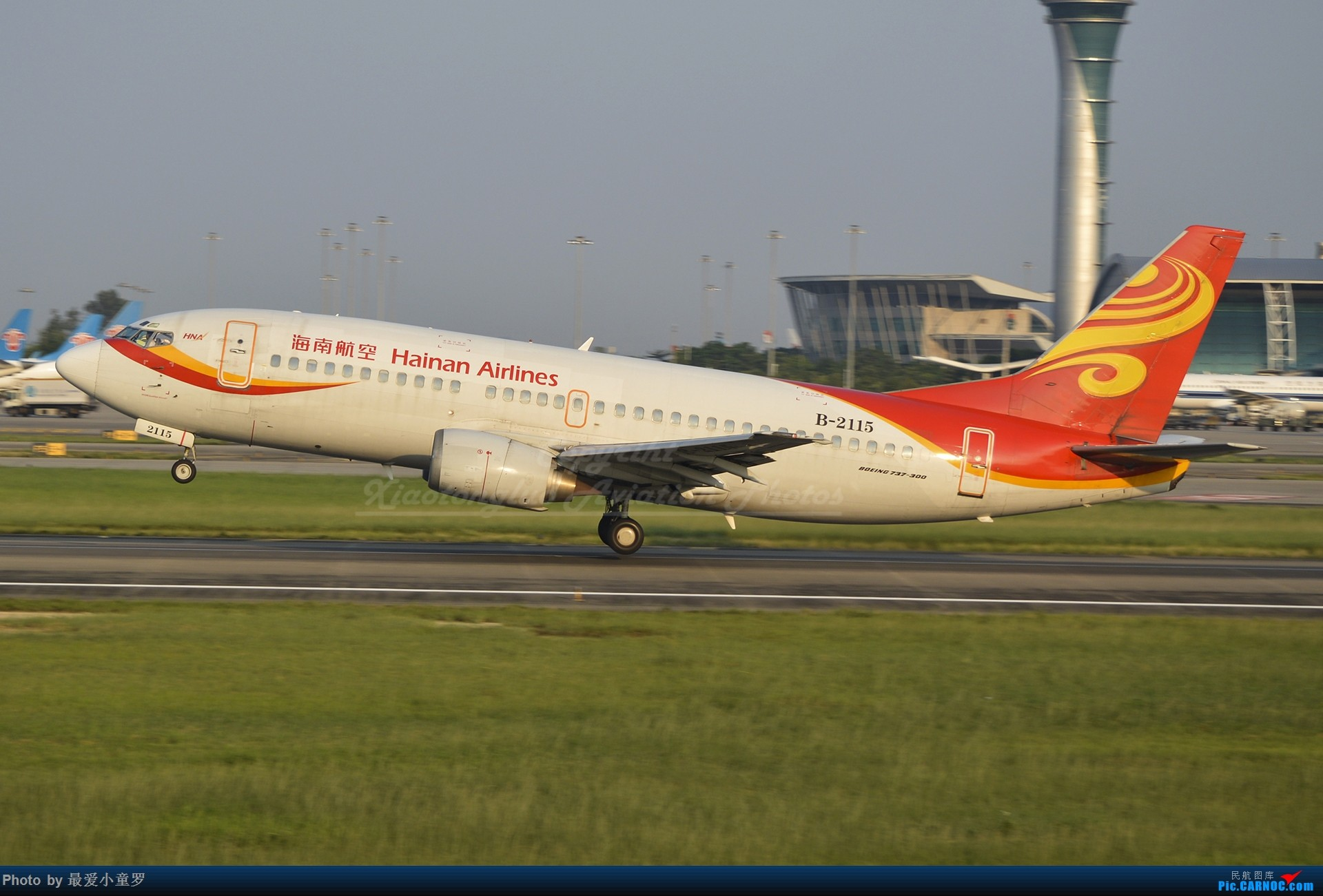 Re:[原创]2013-2018,系列组图纪念拍机5周年 BOEING 737-300 B-2115 中国广州白云国际机场