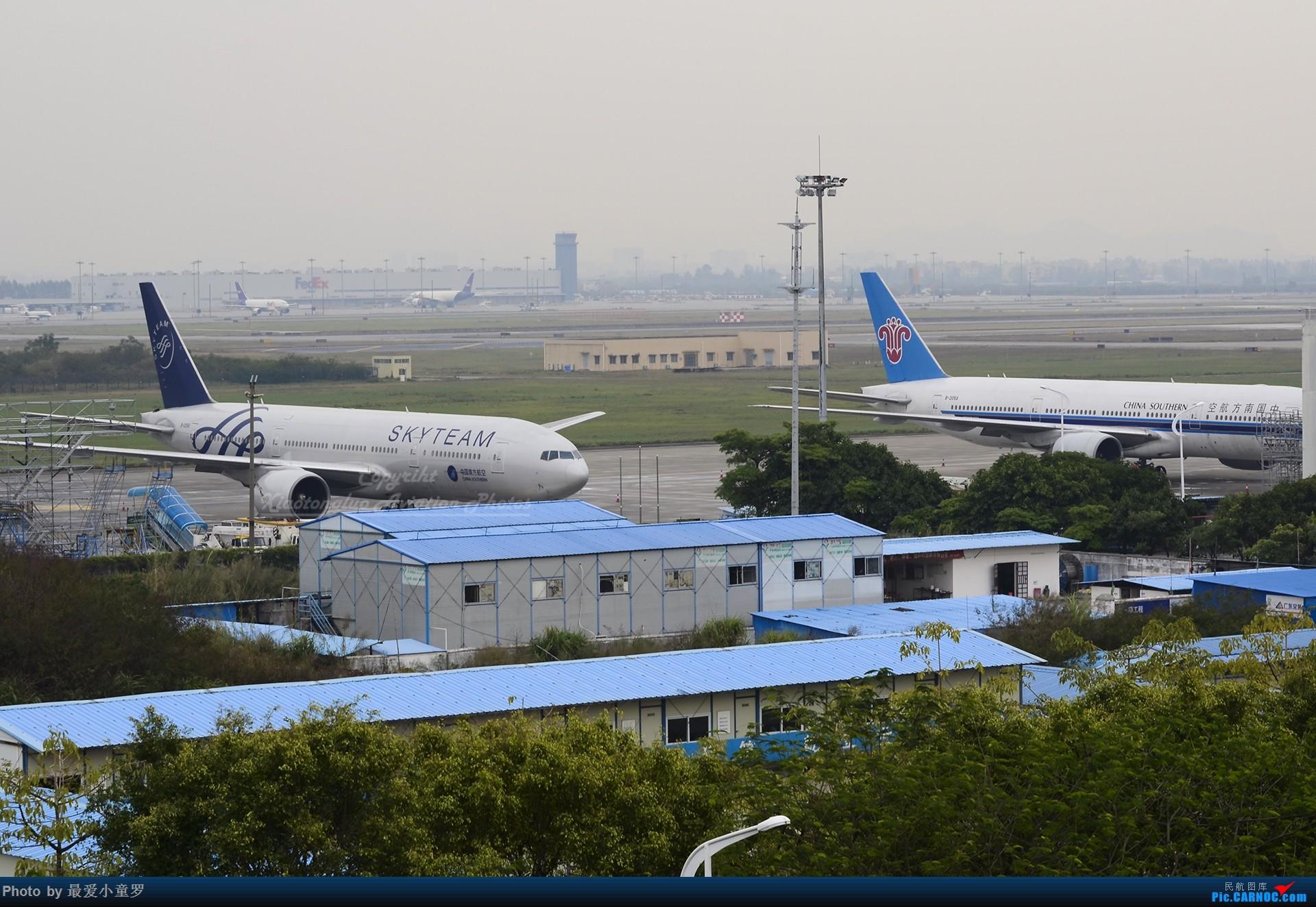 Re:[原创]2013-2018,系列组图纪念拍机5周年 BOEING 777-200 B-2055 中国广州白云国际机场