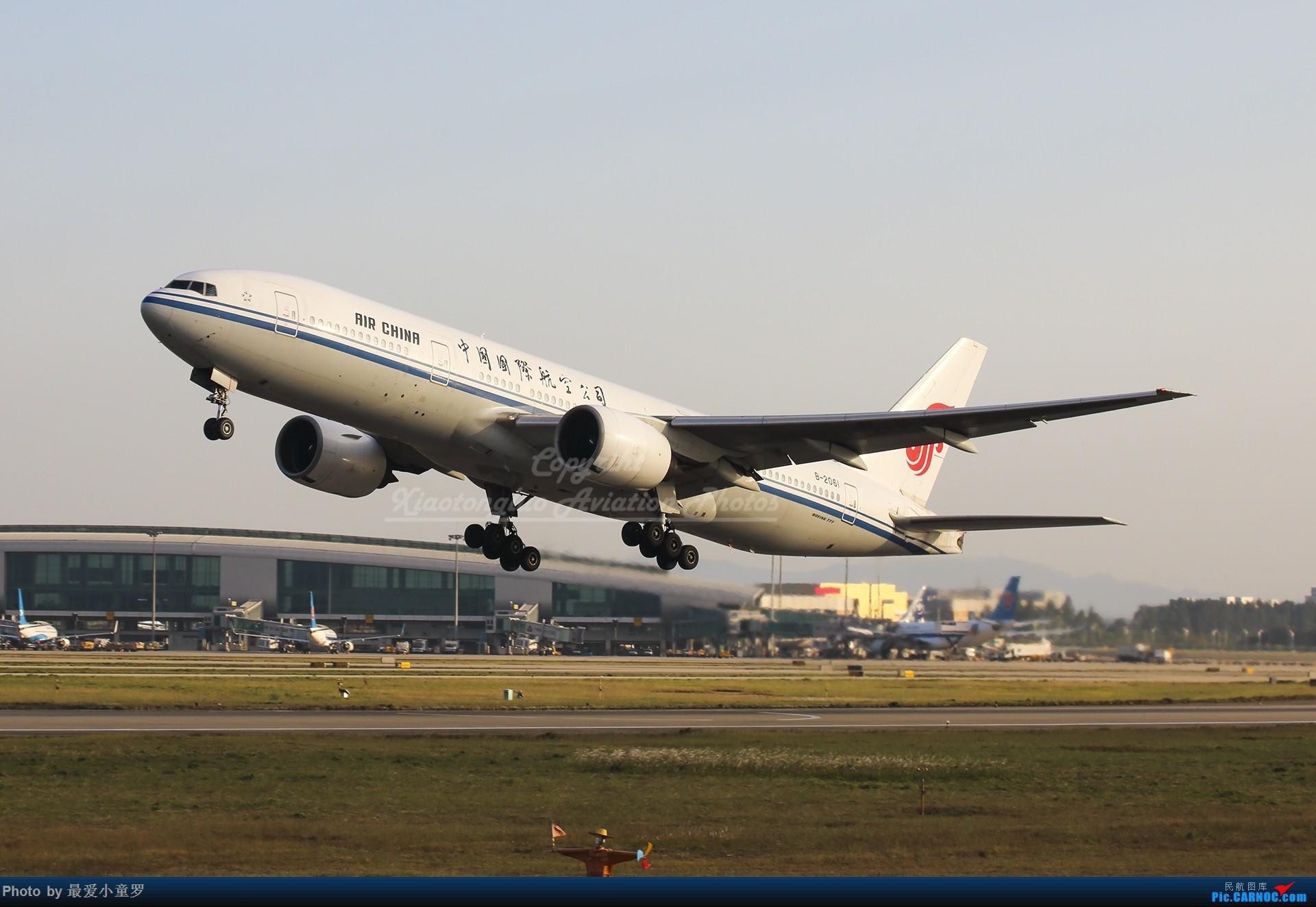 Re:[原创]2013-2018,系列组图纪念拍机5周年 BOEING 777-200 B-2061 中国广州白云国际机场