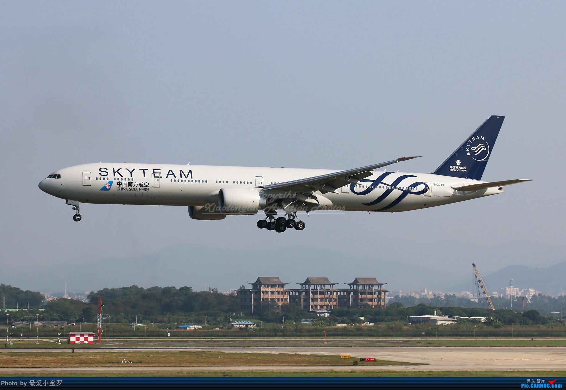Re:[原创]2013-2018,系列组图纪念拍机5周年 BOEING 777-300ER B-2049 中国广州白云国际机场