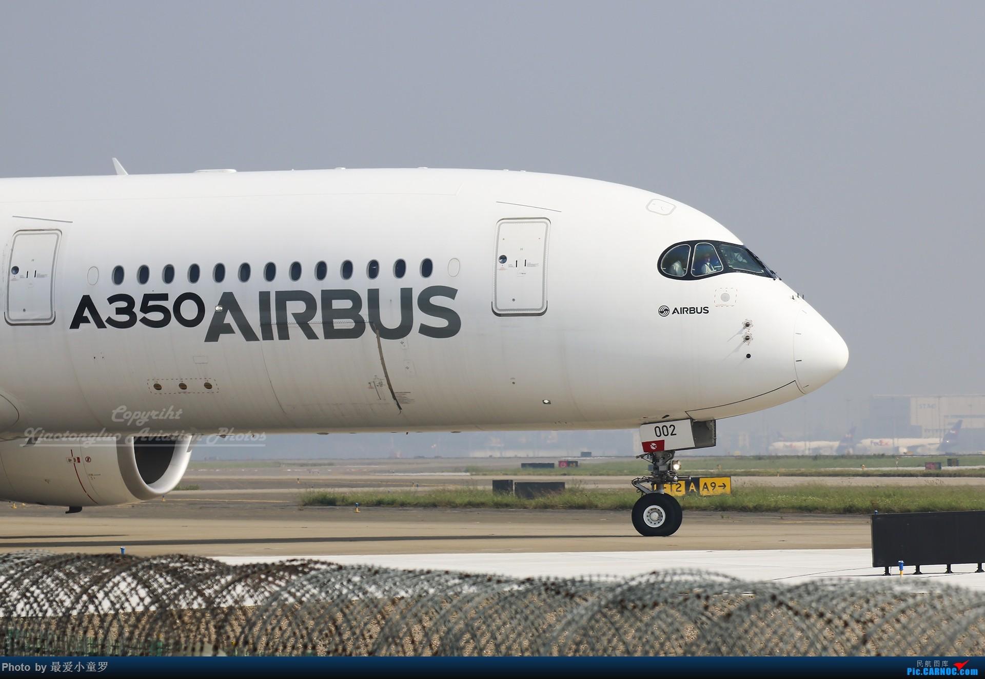 Re:[原创]2013-2018,系列组图纪念拍机5周年 AIRBUS A350-900 F-WWCF 中国广州白云国际机场