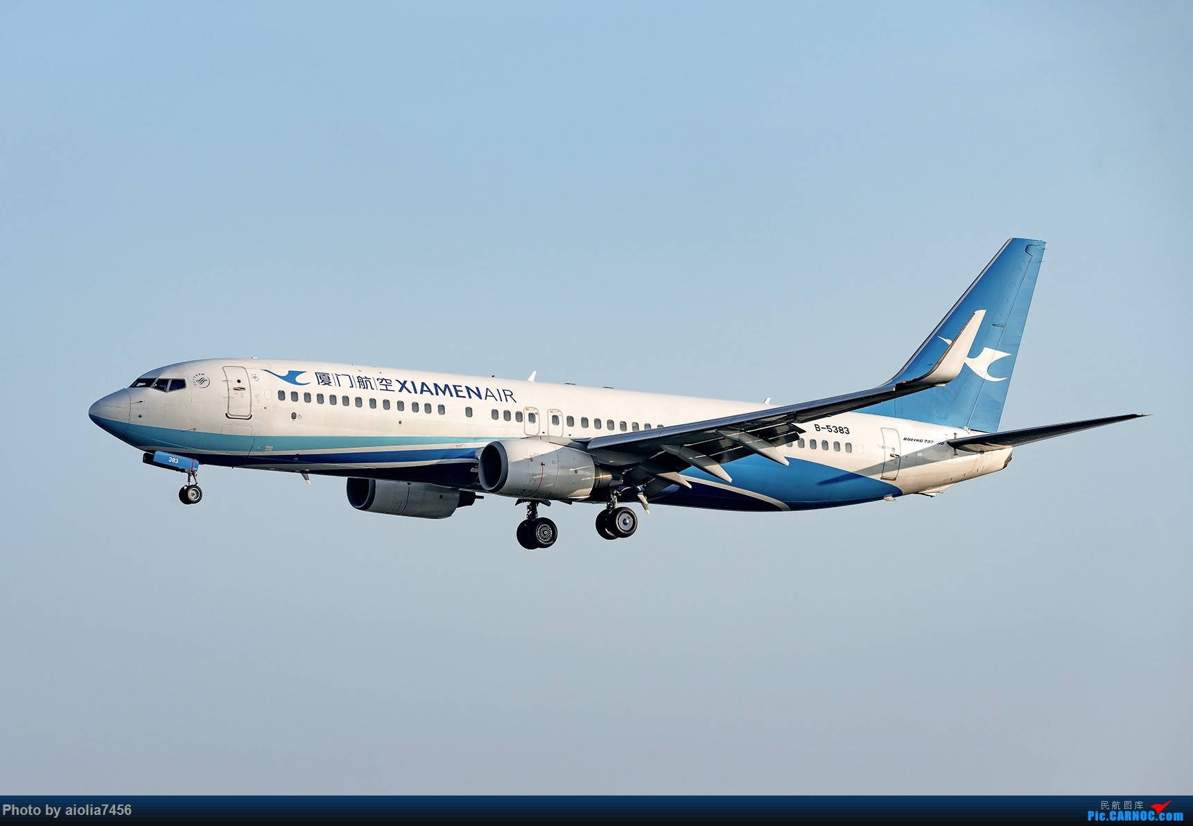 Re:[原创]【福州飞友会】【合肥飞友会】最最难忘的FOC的那一抹蓝 BOEING 737-800 B-5383 中国福州长乐国际机场