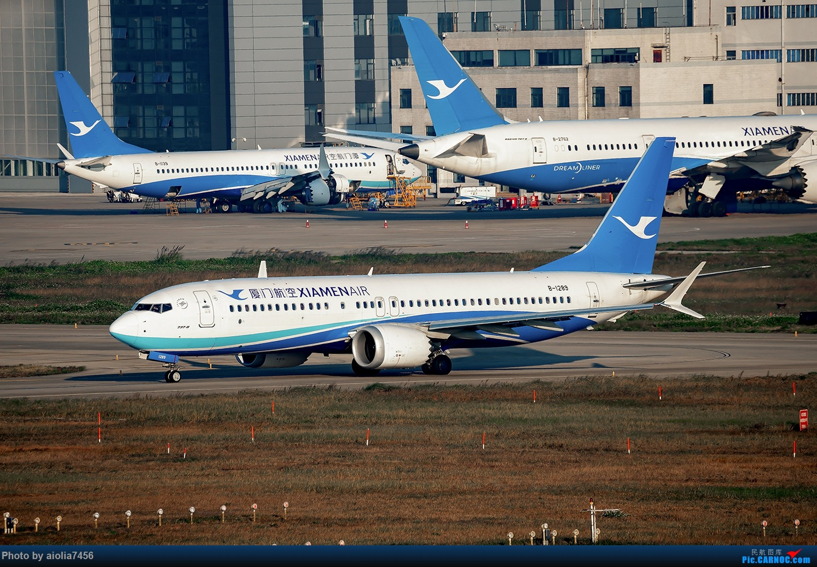 Re:[原创]【福州飞友会】【合肥飞友会】最最难忘的FOC的那一抹蓝 BOEING 737MAX-8 B-1289 中国福州长乐国际机场
