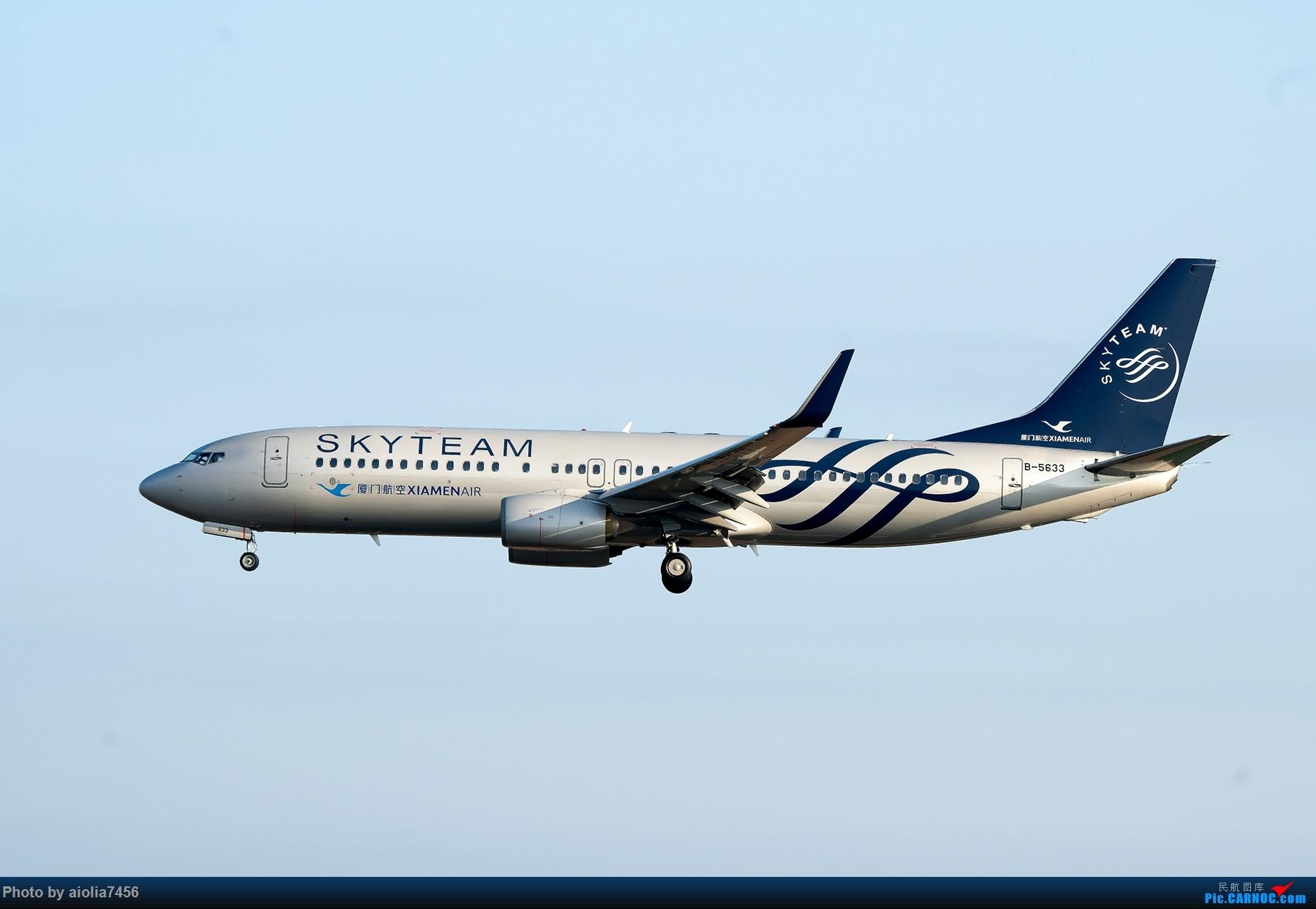 Re:[原创]【福州飞友会】【合肥飞友会】最最难忘的FOC的那一抹蓝 BOEING 737-800 B-5633 中国福州长乐国际机场