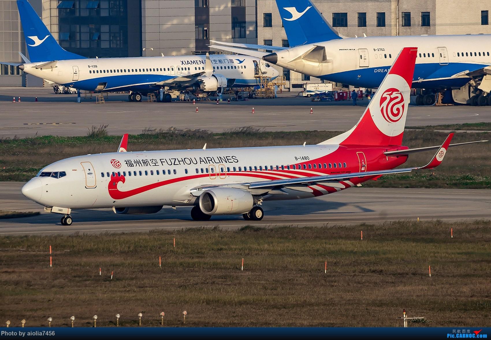 Re:[原创]【福州飞友会】【合肥飞友会】最最难忘的FOC的那一抹蓝 BOEING 737-800 B-1480 中国福州长乐国际机场
