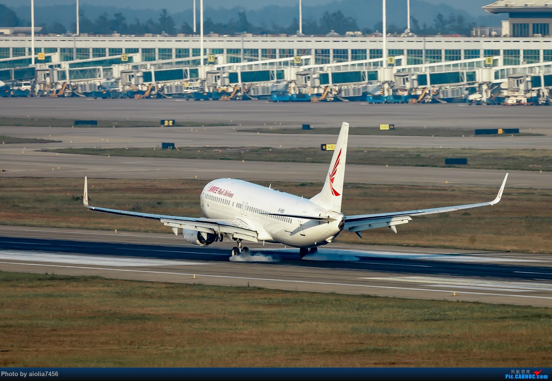 Re:[原创]【福州飞友会】【合肥飞友会】最最难忘的FOC的那一抹蓝 BOEING 737-800 B-1593 中国福州长乐国际机场