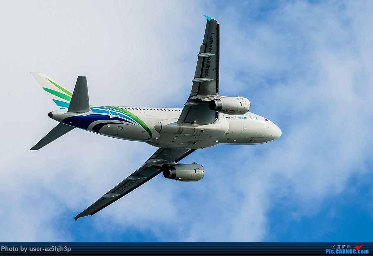 [原创]空客A320系列一组 AIRBUS A319 XU-971 香港国际机场