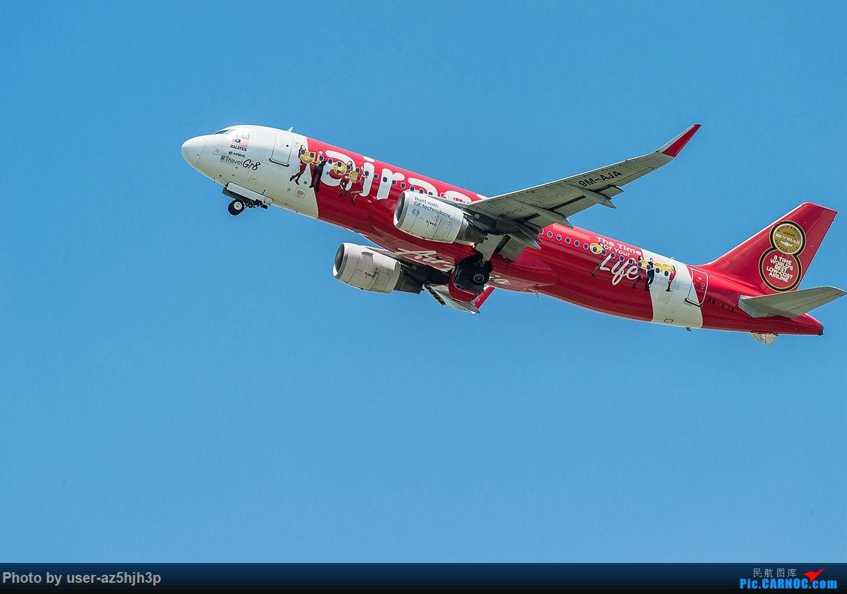 Re:[原创]空客A320系列一组 AIRBUS A320 9M-AJA 香港国际机场