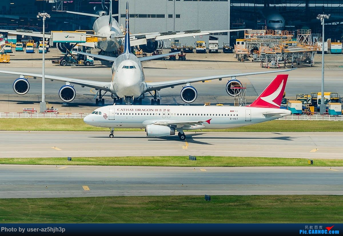 Re:[原创]空客A320系列一组 AIRBUS A320-200 B-HST 香港国际机场